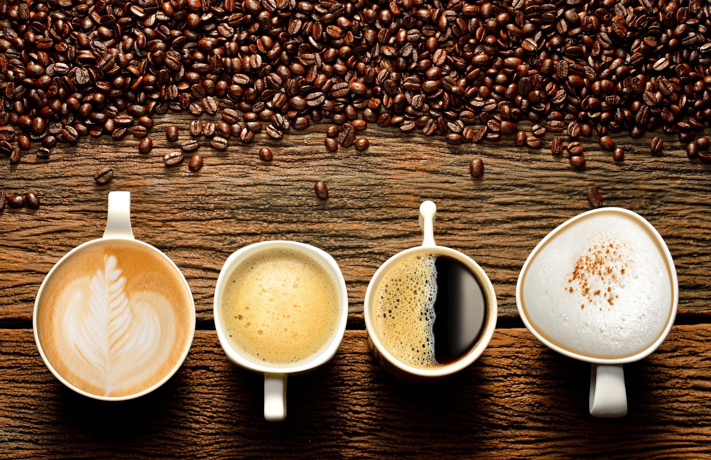 Виды кофе и капсульных кофемашин