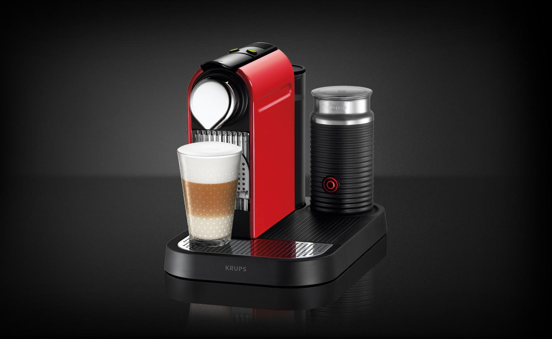 Капсульная кофемашина Krups Nespresso CitiZ & Milk — функциональный вариант